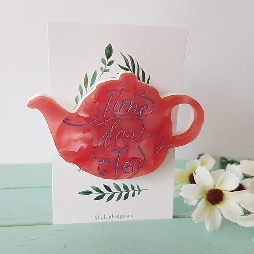 Elsa Designs - Time for Tea (Pink Crystal)