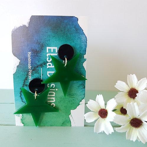 Elsa Designs - Green Stars