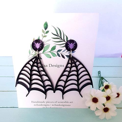Elsa Designs - Spider Studs / Dangles