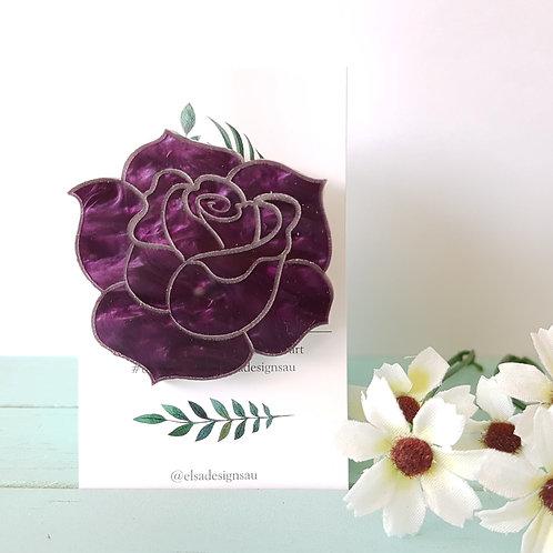 Elsa Designs - Deep Purple Rose