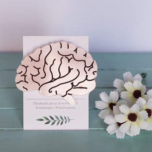Elsa Designs - Pale Pink Brain