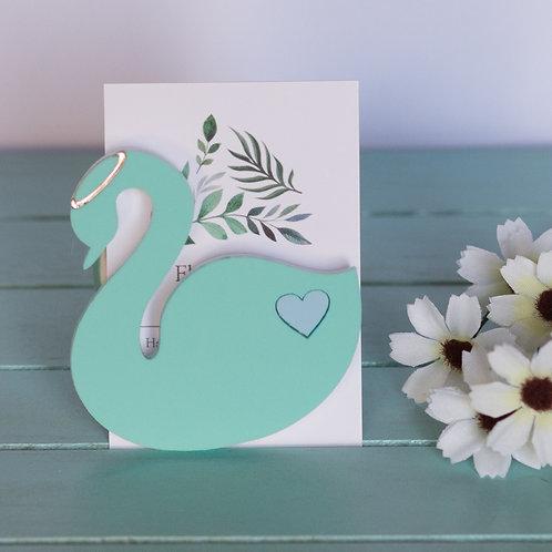Elsa Designs - Mint Swan