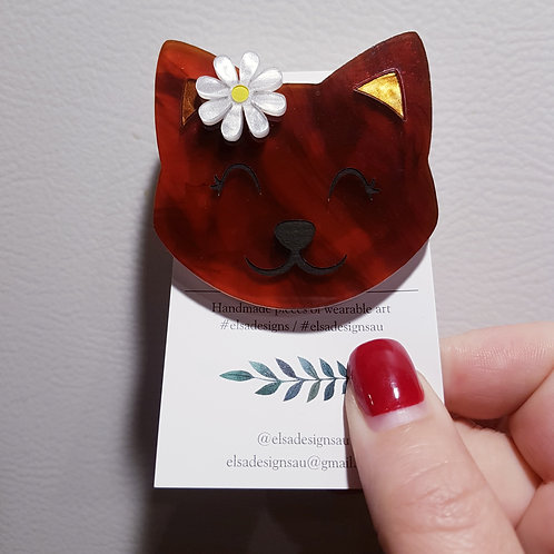 Elsa Designs - Flower Kitten (Tortie)