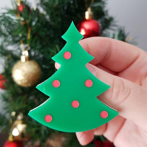 Elsa Designs - Christmas Tree Brooch
