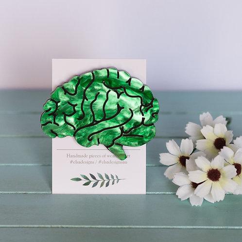 Elsa Designs - Green Brain