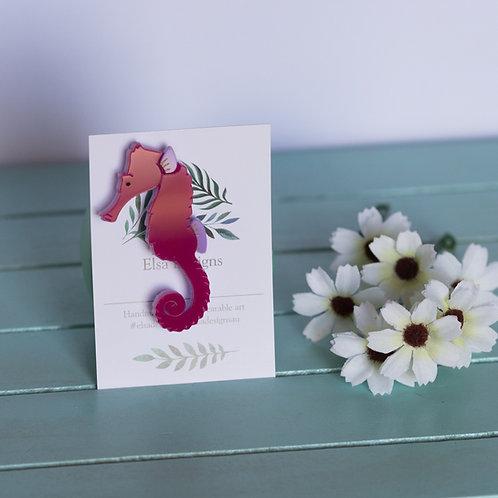 Elsa Designs - Pink Seahorse