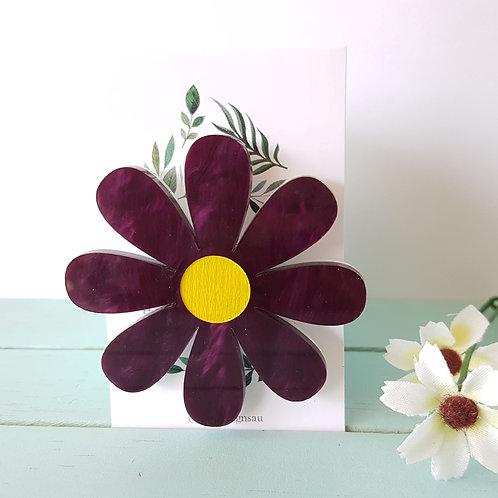 Elsa Designs - Deep Purple Daisy