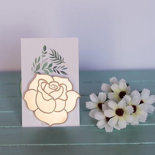 Elsa Designs - Rose Gold Rose