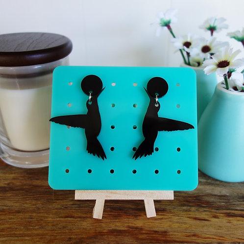 Elsa Designs - Hummingbird Dangle Earrings