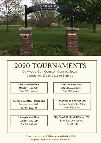 Oakwood Tournaments