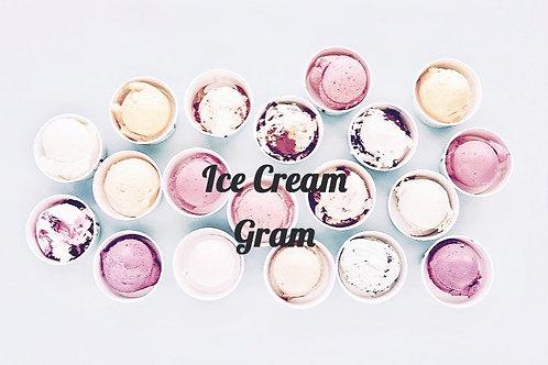 Add An Ice Cream Gram!