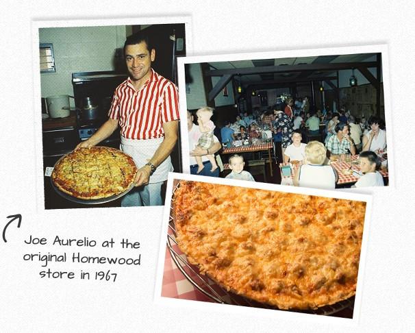 joe aurelio and pizza