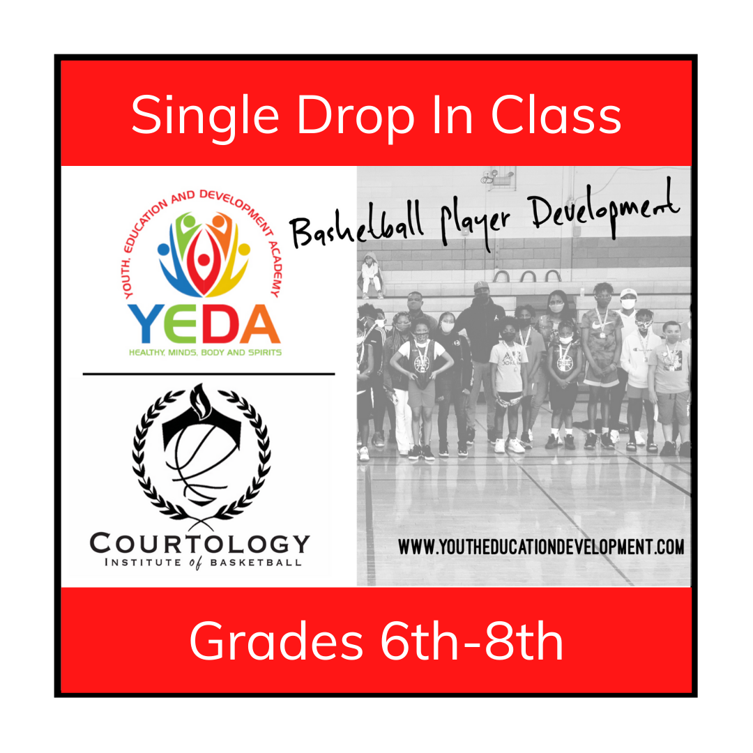 1 Basketball Training - Grades 6th-8th