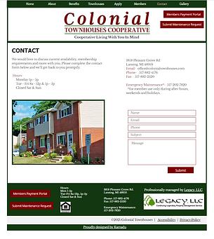 website designed by kamadu park forest il web designer