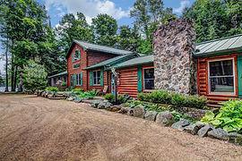 birch trail resort lodge front