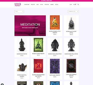 category page on website redesign