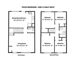 4 Bedroom 1.5 Bath