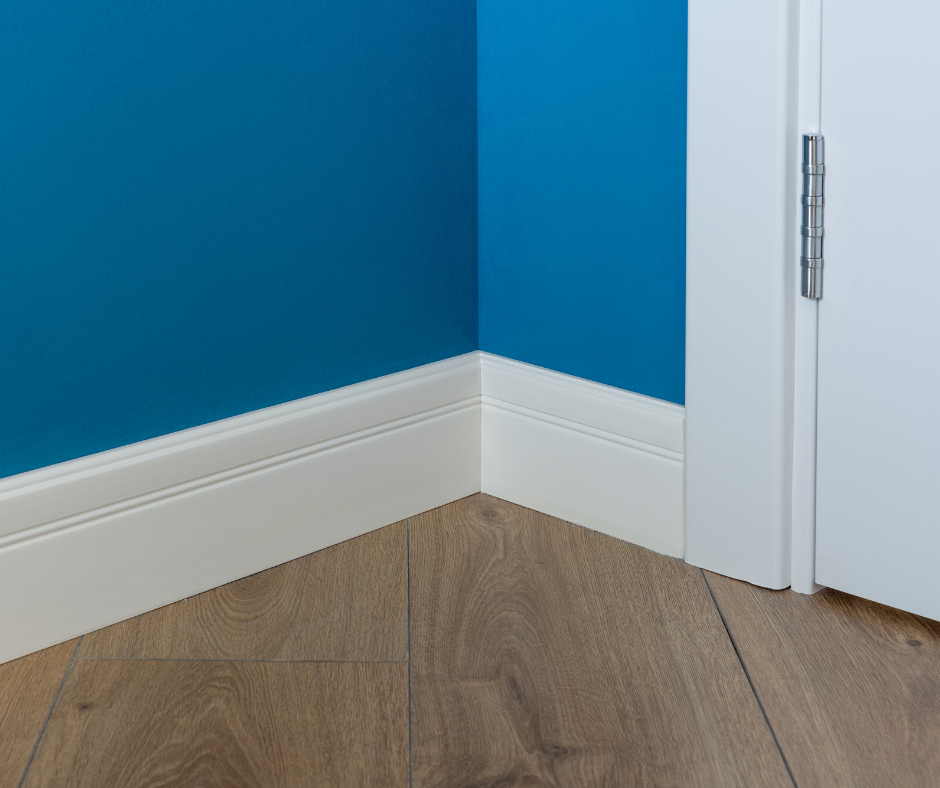 corner showing baseboards
