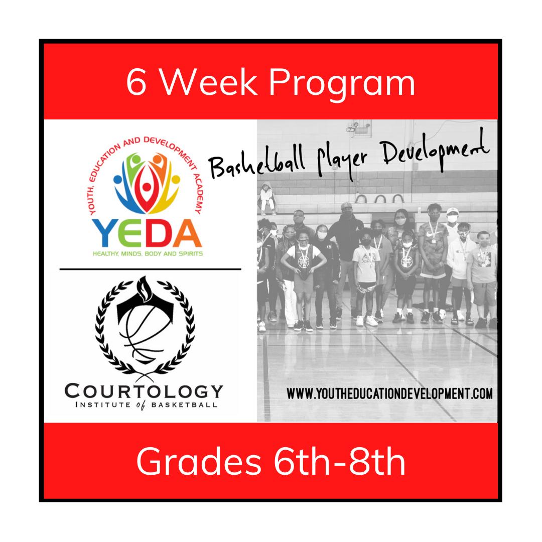 Basketball Training - Grades 6th - 8th