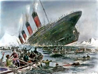 Addiction is an iceberg, a non-strategic cold sinking of everything.  Survival of a shipwreck is a b