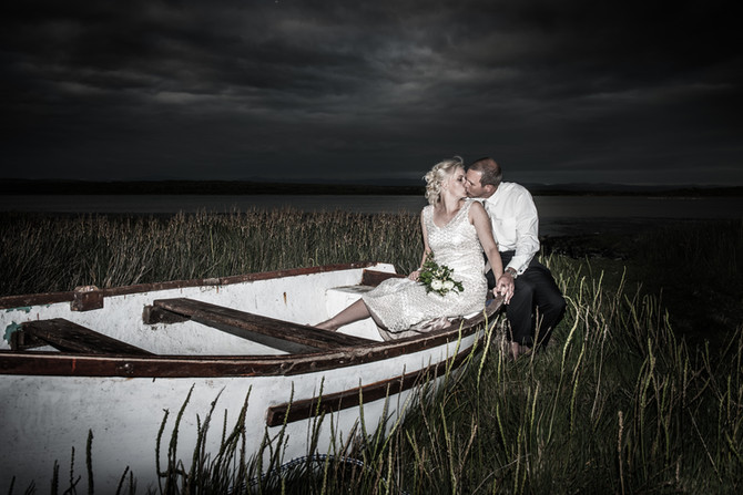 Wedding with spirit