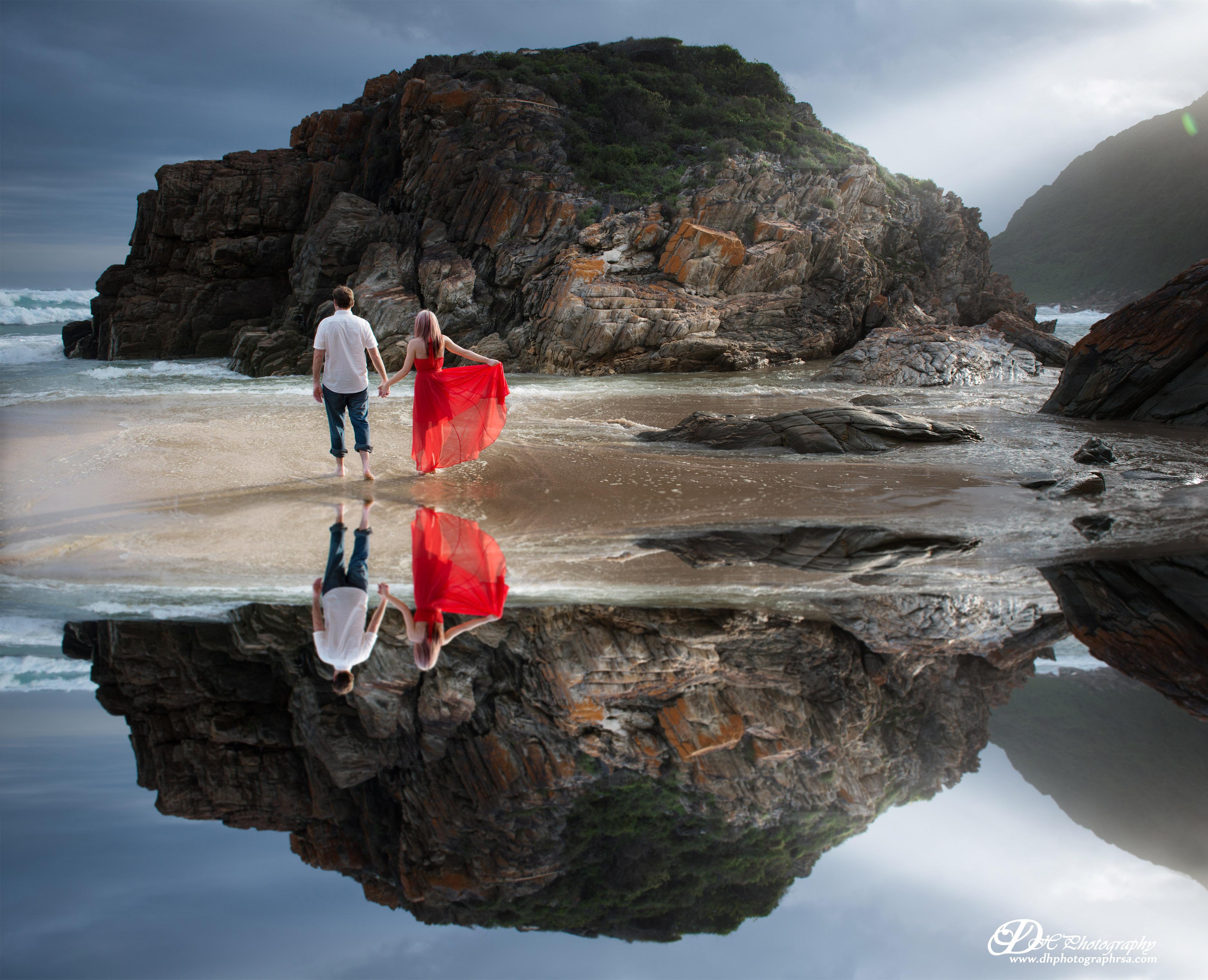 DHPhotography Jeffrey's Bay Photographers Pre wedding Oubos strand