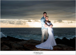 DHPhotography Jeffrey's Bay Photographers Groom & Bride seascapel