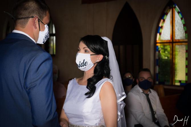 Covit 19 Wedding by DHPhotography Jeffrey's bay