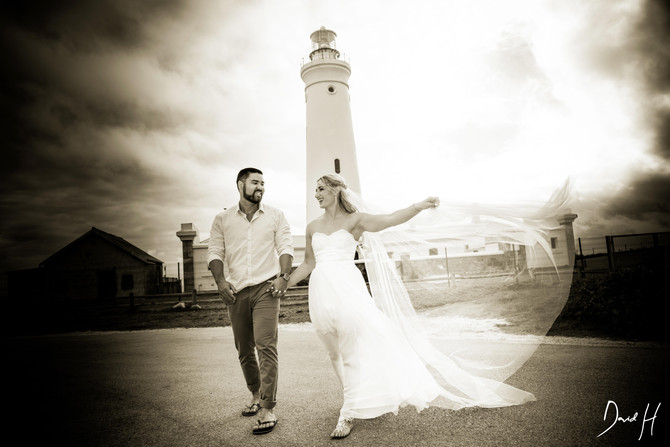 James & Mona Wedding at Cape St Francis by DHPhotography