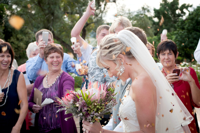Wedding at Kwagga in The Gamtoos