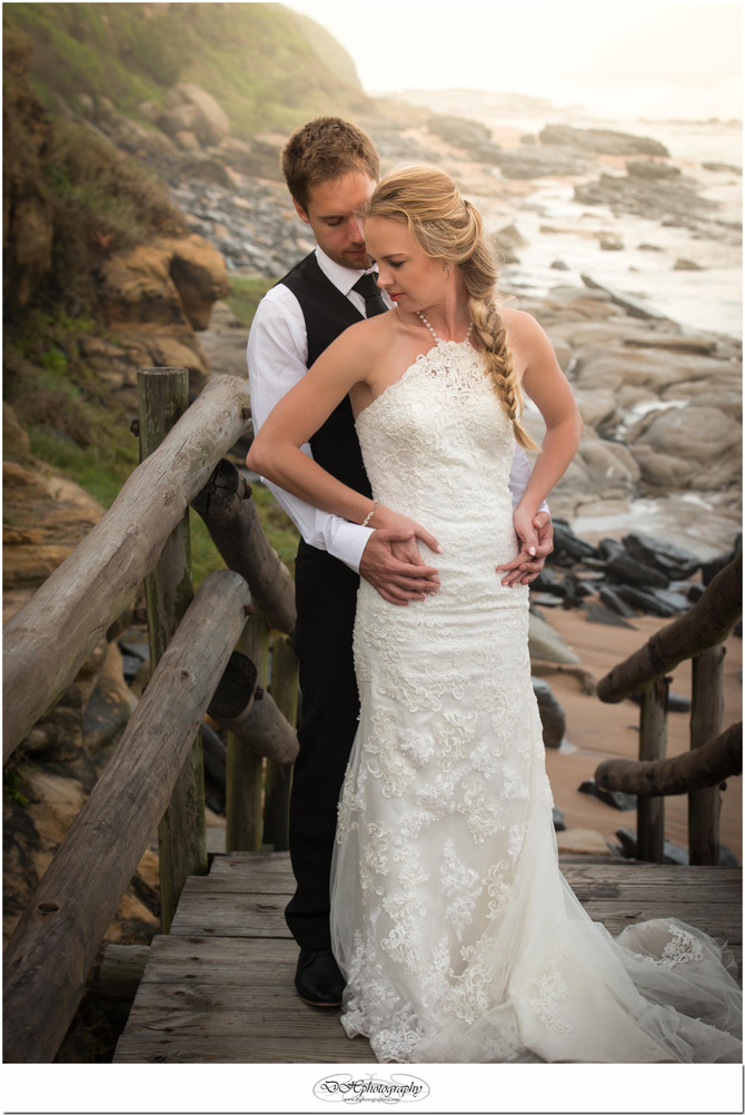 Salt Rock Wedding of Paul & Ternicia by DHPhotography