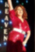 June Richards wears a custom styled Dannii
