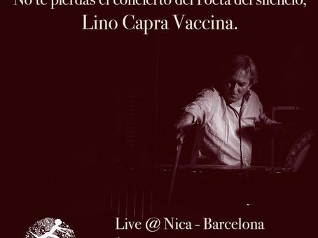 LINO CAPRA VACCINA | live in BARCELONA 8.5