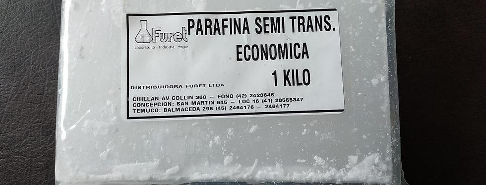 Parafina sólida - 1 kilo