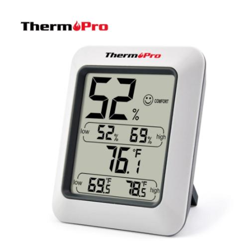 Termohigrómetro con registros de MAX y MIN diarias - ThermoPro TP50