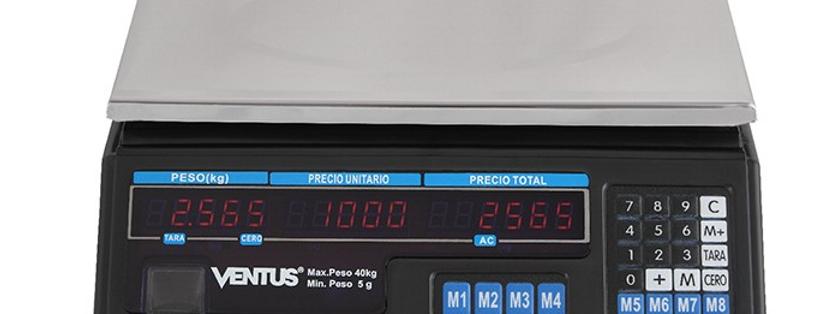 Balanza Digital 40 Kilos con Bateria Recargable