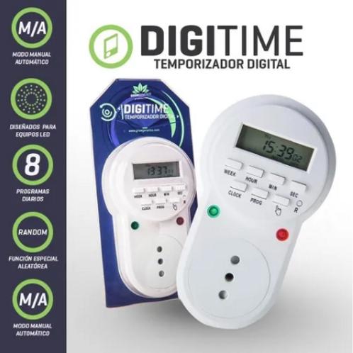 Temporizador Digital - Grow Genetics