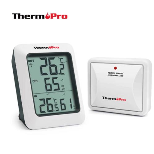 Termohigrometro Inhalambrico multisonda - ThermoPro TP60S