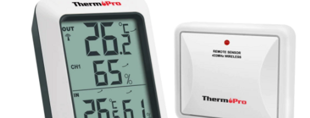 Termohigrometro Inhalambrico + 3  Sondas - ThermoPro TP60S