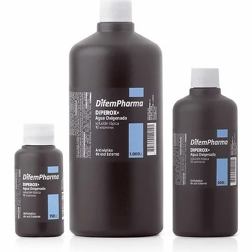 Agua oxigenada 10 volúmenes - 1Litro