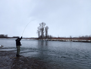 Its December.  Its Cold.  And We Are Still Fishing!