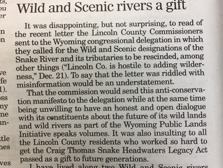 Scott Bosse and American Rivers tell the truth about Wild and Scenic Rivers