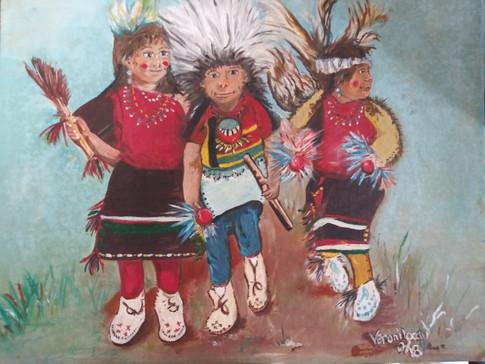 Pueblo Indian Children