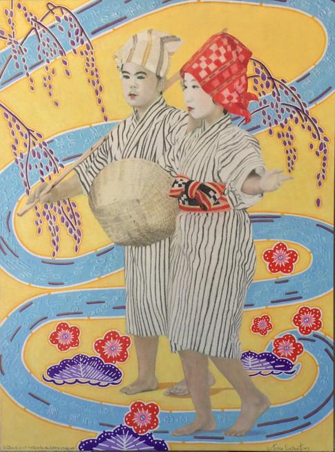 Okinawa Dancers #1