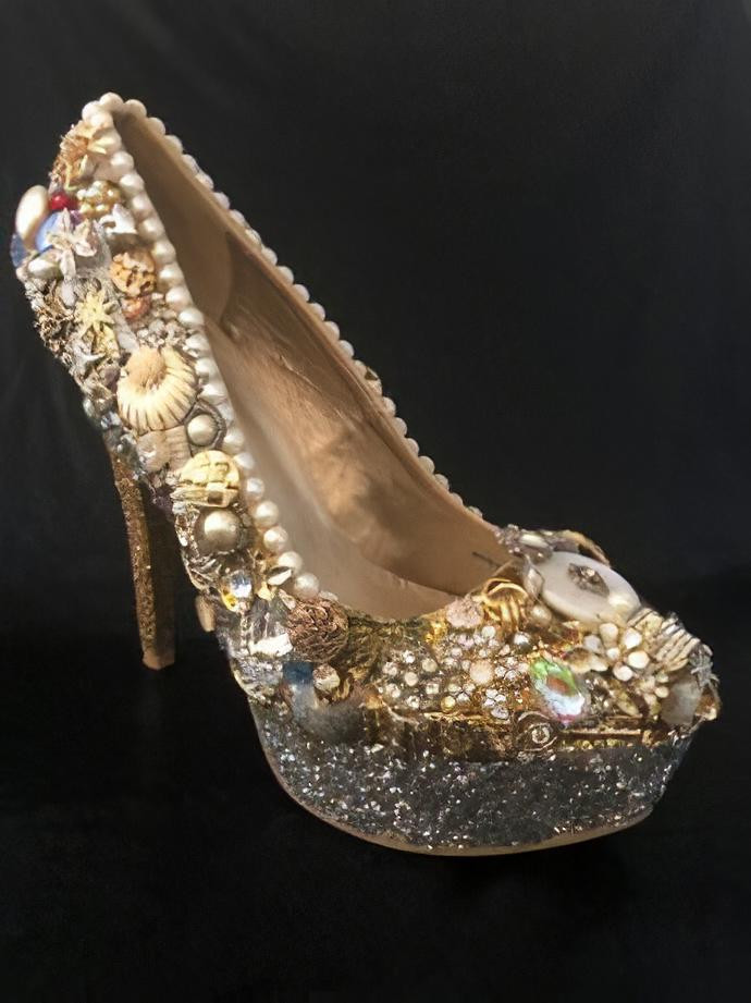 Jeweled, Bling Pump