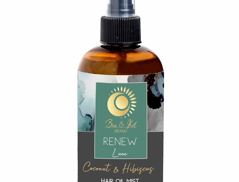 Renew Lune - Coconut & Hibiscus Hair Oil Mist