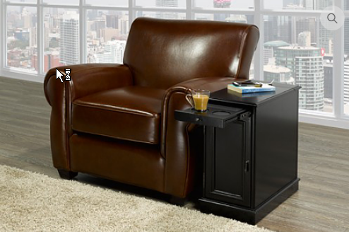 6500/6505 - Chair side End Table With Power