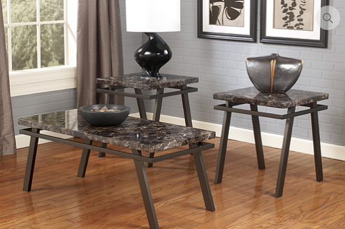 2510 - 3pc Coffee Table Set