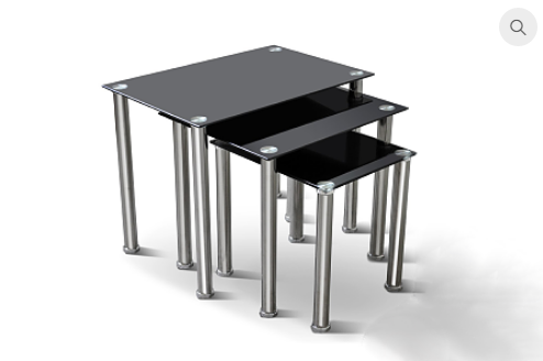 2100 - 3pc Nesting Table Set