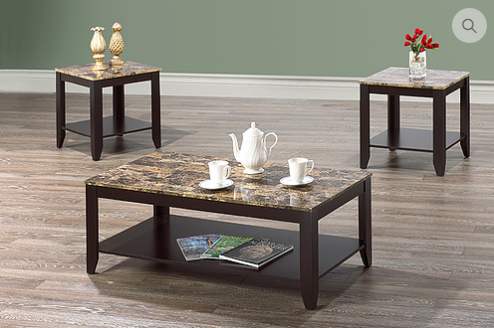 3218/2218 - 3pc Coffee Table Set